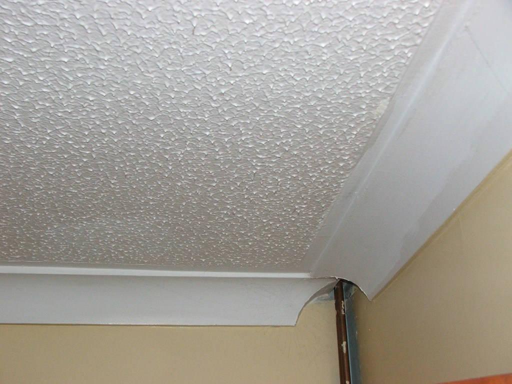 Plastering Over A Horrible Splat Effect Textured Ceiling